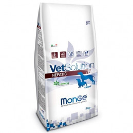 MONGE VETSOLUTION CANE HEPATIC  12 Kg. -