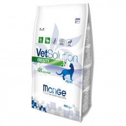 MONGE VETSOLUTION GATTO OBESITY 400 gr. -