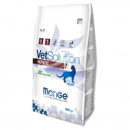 MONGE VETSOLUTION GATTO HEPATIC  400 gr. -