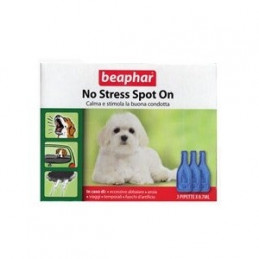 BEAPHAR NO STRESS SPOT ON CANE 3 pipette -