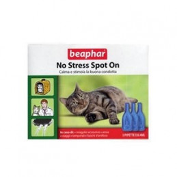 BEAPHAR NO STRESS SPOT ON GATTO 3 pipette -