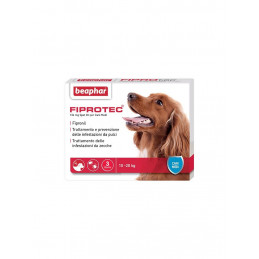 FIPROTEC SPOT-ON CANE MEDIA 3 pipette. KG. 10-20 -
