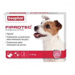 FIPROTEC SPOT-ON CANE PICCOLO 3 pipette. KG. 5-10 -