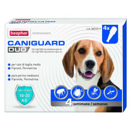 BEAPHAR CANIGUARD DUO CANE spot-on 10-20 kg. 4 pipette. -