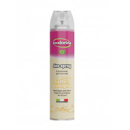 INODORINA DEO SPRAY LATTE & VANIGLIA  300 ml. -