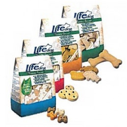 Life Dog Natural Biscuits Ossi Gr. 500 -