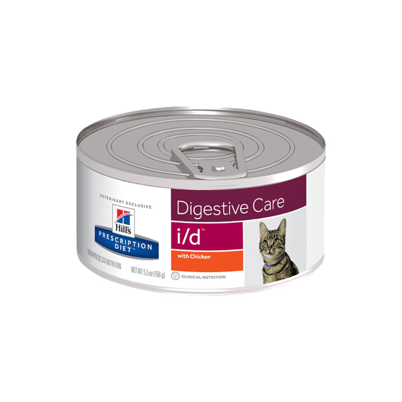 Hill's i/d Digestive Care umido per gatto 6 lattine da 156 gr. -
