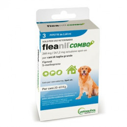 FLEANIL COMBO Spot-On CANI 20-40 KG 3 pipette -
