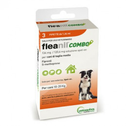 FLEANIL COMBO Spot-On CANI 10-20 KG   3 pipette -
