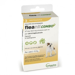FLEANIL COMBO Spot-On CANI  2-10 KG 3 pipette -