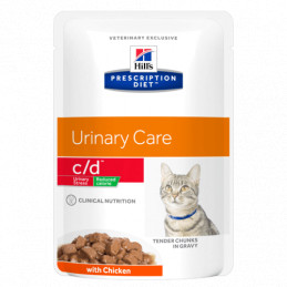 Hill's c/d feline urinary stress reduced calorie pollo 1,5 kg -