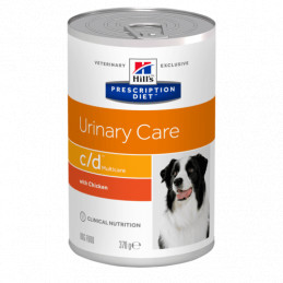 Hill's c/d canine multicare 6 lattine da 370 gr -