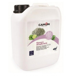 Camon - Cane Gatto Shampoo all'Argilla Verde Vetiver Professional 5 Lt. -