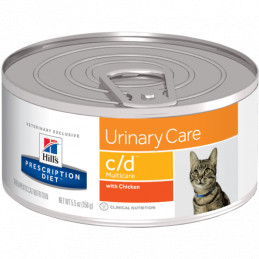 Hill's c/d feline multicare pollo 6 lattine da 156 gr -