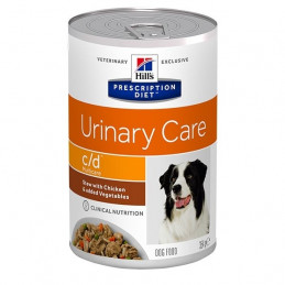 Hill's Pet Nutrition - Cane Prescription Diet Stew c/d Urinary Care con Pollo e Verdure 354 Gr. -