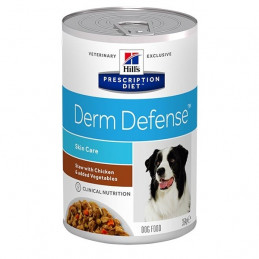 Hill's Pet Nutrition - Cane Prescription Diet Stew Derme Defense con Pollo e Verdure 354 Gr. -