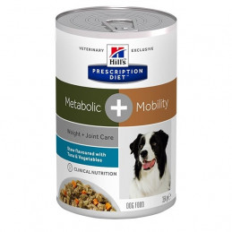 Hill's Pet Nutrition - Cane Prescription Diet Stew Metabolic + Mobility con Tonno e Verdure 354 Gr. -