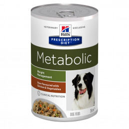 Hill's Pet Nutrition Cane Prescription Diet Stew Metabolic Weight Management con Pollo e Verdure 354 Gr. -
