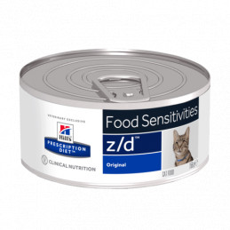 Hill's z/d gatto 6 lattine da 156 gr -