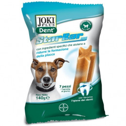 Bayer - Sano e bello - Joki Plus Dent Star Bar Cane Tg. Piccola 7 Stick -
