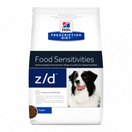 Hill's z/d cane allergy & skin care 3 kg -