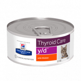 Hill's y/d gatto 6 lattine da 156 gr -