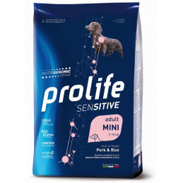 Prolife Sensitive Adult Pork & Rice - Mini 2kg -