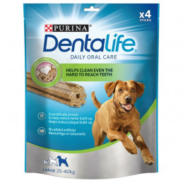PURINA DENTALIFE LARGE CANE 142 gr. (4 stick) -