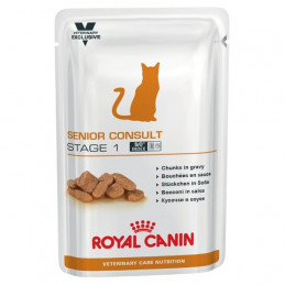 Royal Canin - Veterinary Diet Gatto Senior Consult Stage 1 (12 bustine da 100 g.) -