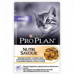 PURINA GATTO JUNIOR POLLO 24 buste da 85 gr. -