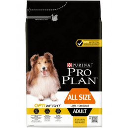 PURINA CANE LIGHT STERILIZED ALL SIZE POLLO  Kg. 3 -