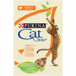 CAT CHOW ADULT buste POLLO  24 bustine 85 gr. -