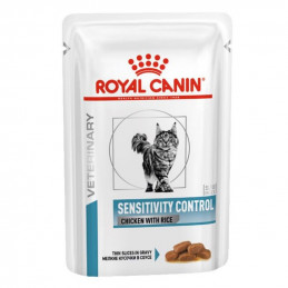 royal canin sensitivity control pollo riso 12 buste da 85 gr. -