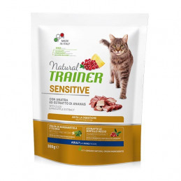 Trainer (Nova Foods) - Gatto Natural Sensitive Adult con Anatra 300 Gr. -