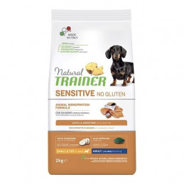 Trainer (Nova Foods) - Cane Natural Sensitive No Gluten Small & Toy Adult con Salmone 2 Kg. -