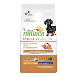 Trainer (Nova Foods) - Cane Natural Sensitive No Gluten Small & Toy Adult con Salmone 800 Gr. -