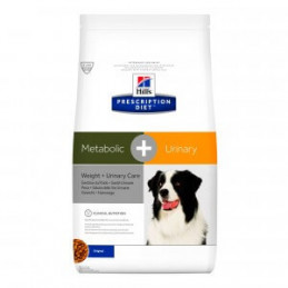 hill's metabolic + urinary cane 12 kg -
