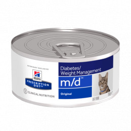 hill's m/d gatto 6 lattine da 156 gr -