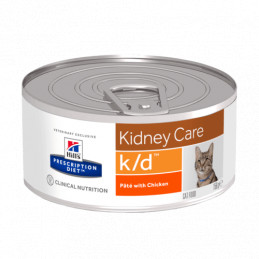 hill's K/D gatto 6 lattine da 156 gr -