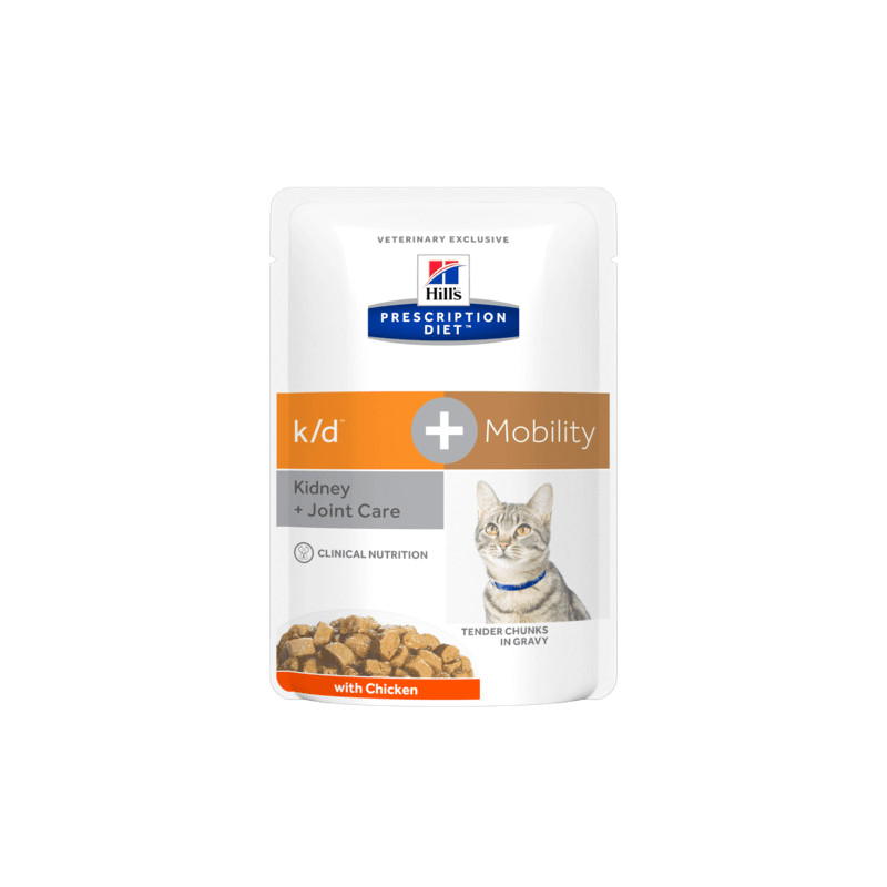 hill's k/d gatto + mobility 12 buste 85 gr -