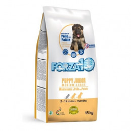 Forza10 Cane Puppy Junior Medium/Large Pollo e Patate 12,5 kg -