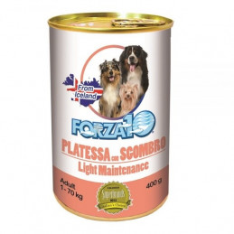 Forza10 Cane Light Maintenance Platessa con Sgombro 400 g -