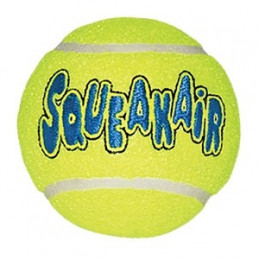 Kong - Cane AirDog Squeakair Tennis Ball Medium -