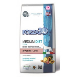 Forza10 Cane medium diet agnello 12 kg -