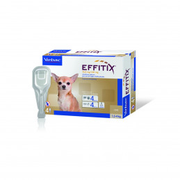 Virbac-Effitix Spot On Cane Small (4 - 10 kg) -
