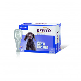 Virbac-Effitix Spot On Cane Medium ( 10 - 20 kg) -