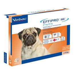 Virbac-Effipro Duo Cane (4 pipette) -