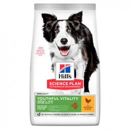 Hill's Cane Youthful Vitality mature adult 7+ pollo 12 kg -