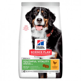 Hill's Cane Youthful Vitality Large mature adult 5+ pollo 12 kg -