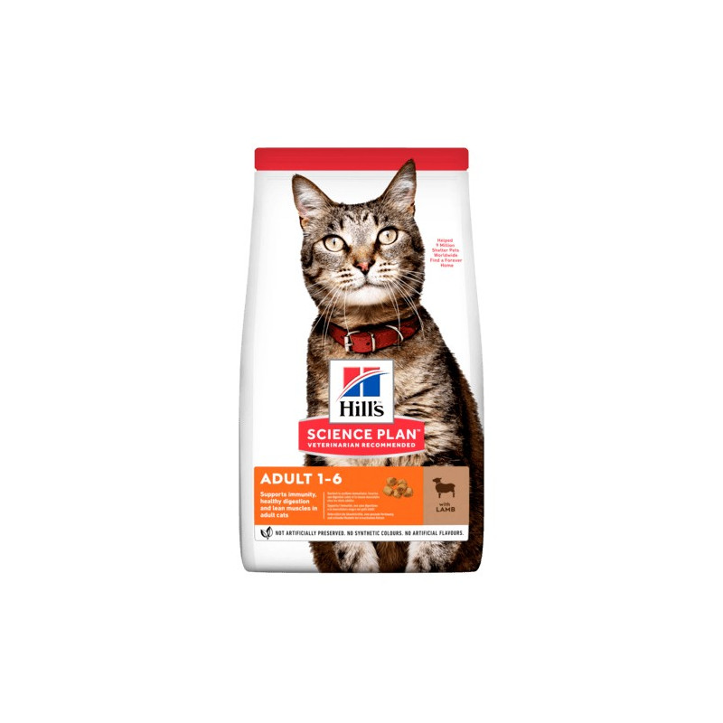 Hill's Gatto adult medium agnello 1,5 kg -